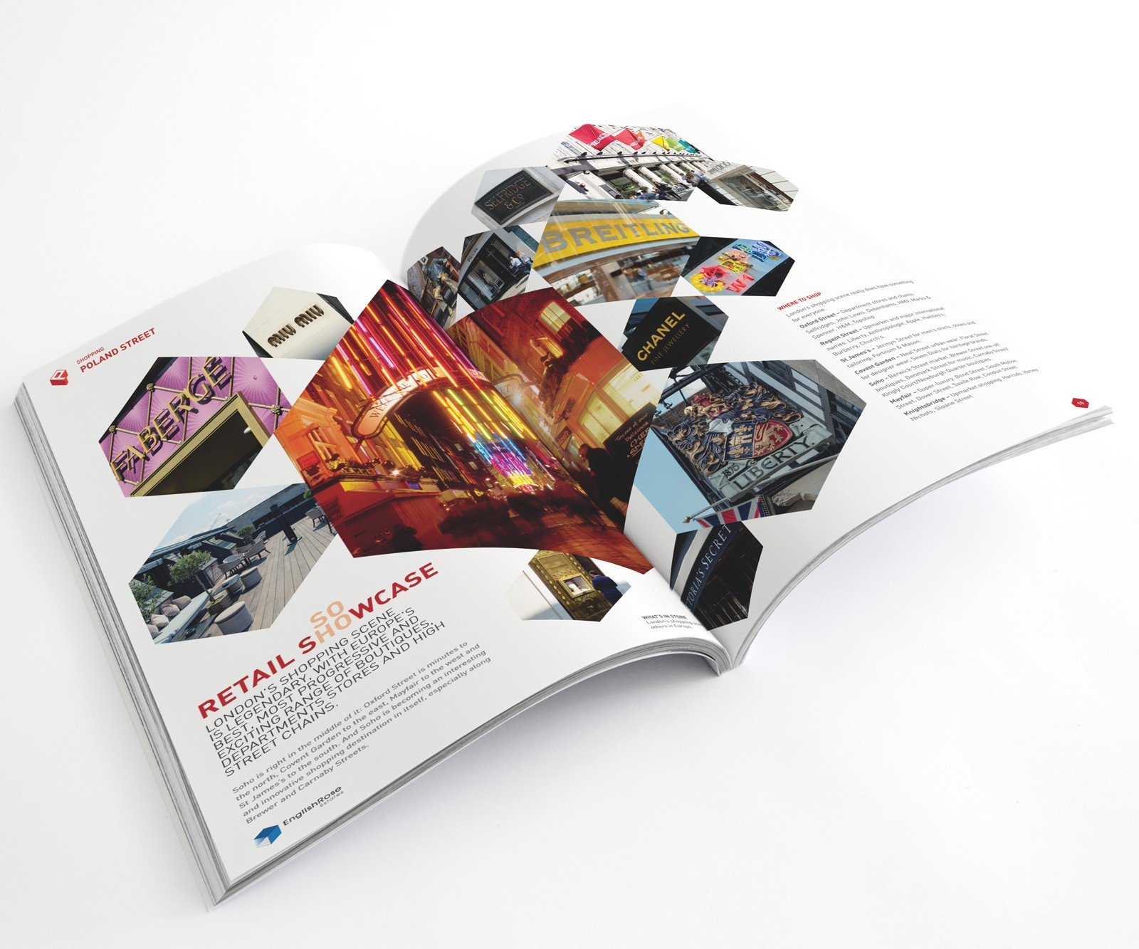 London property Brochure Design