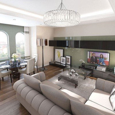 luxury property CGI