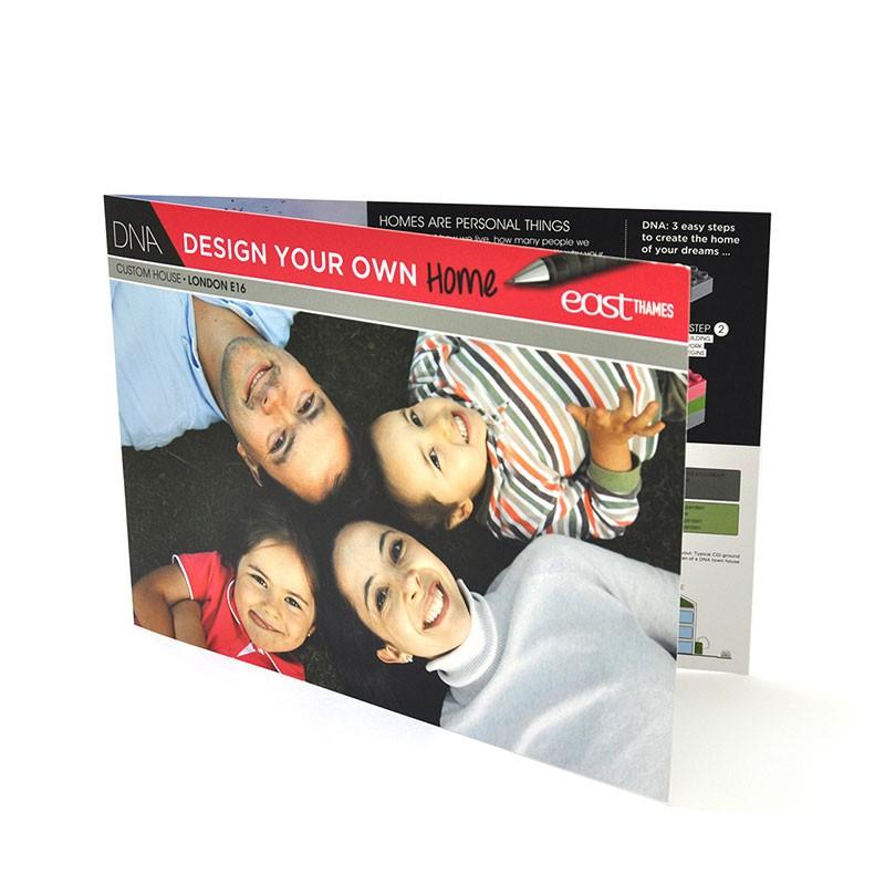 Four Page Brochure Design