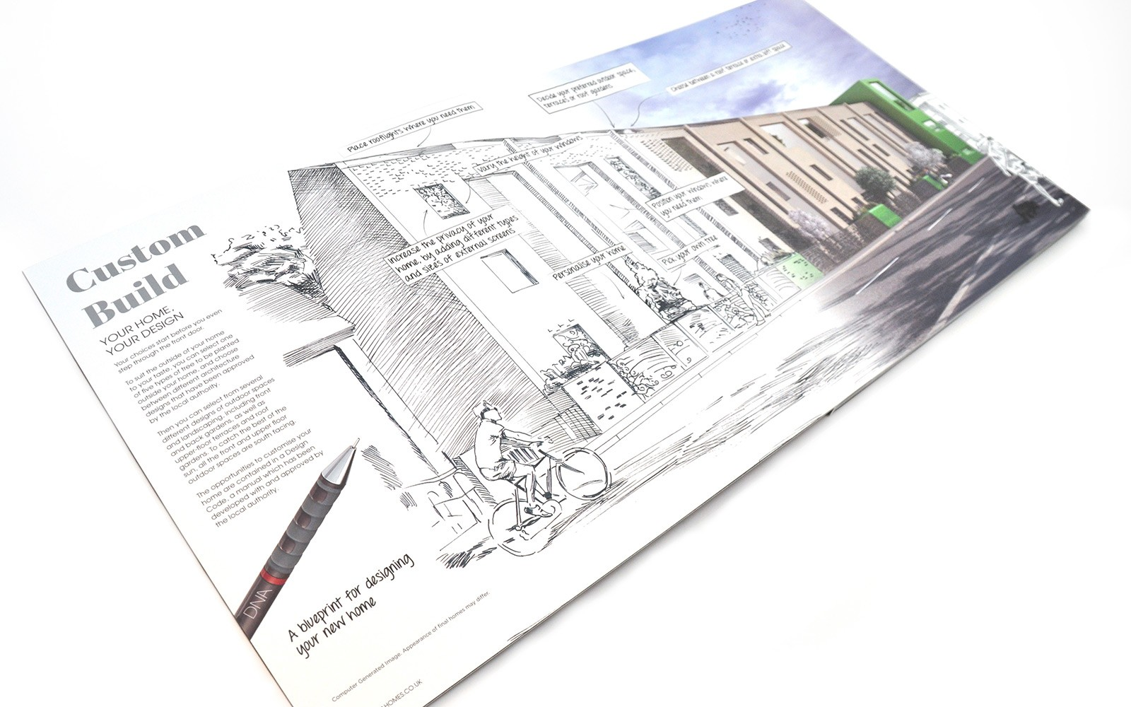 Property Marketing brochure spread