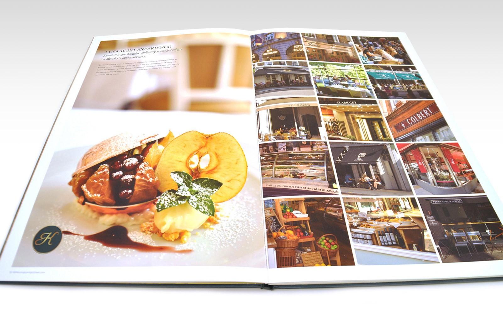 apartment brochure page spread