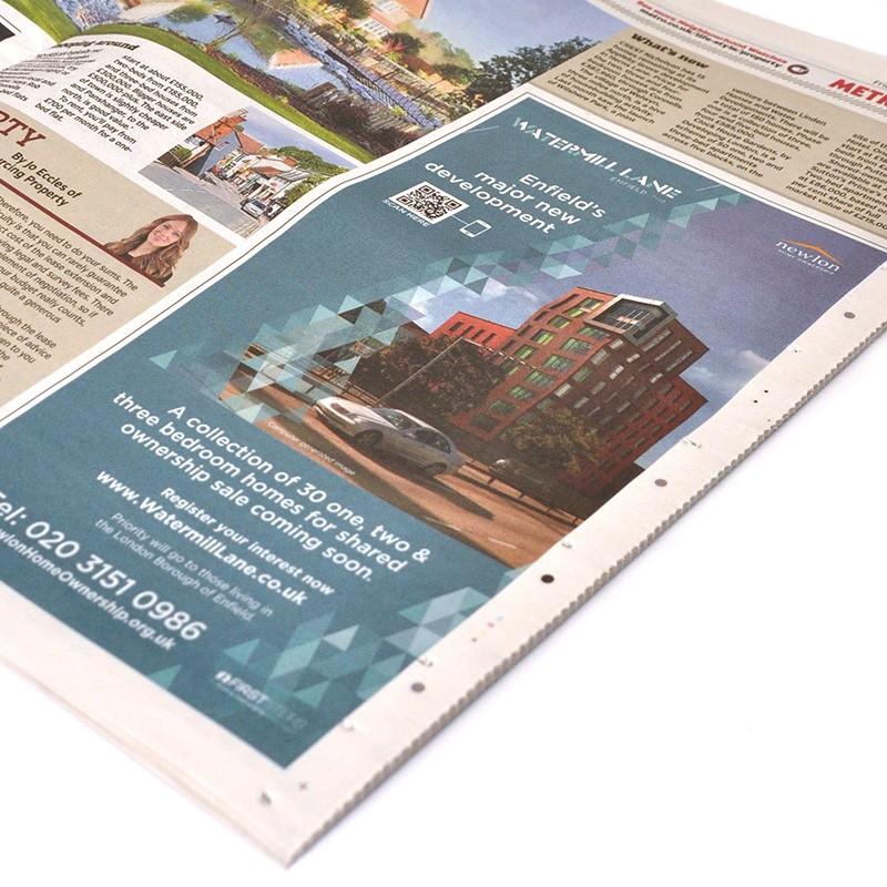 property newspaper advertising creative