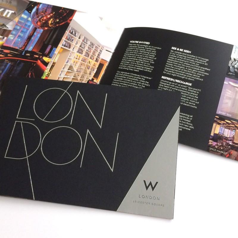 London Hotel Print