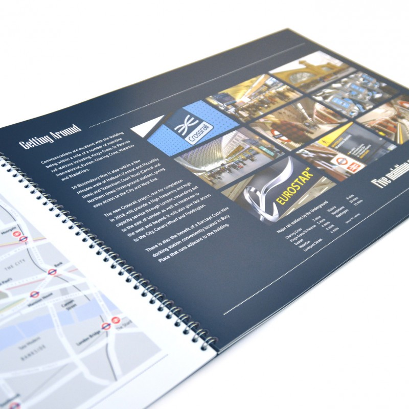Commercial Office Marketing brochure