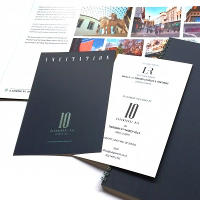 Commercial office marketing invite