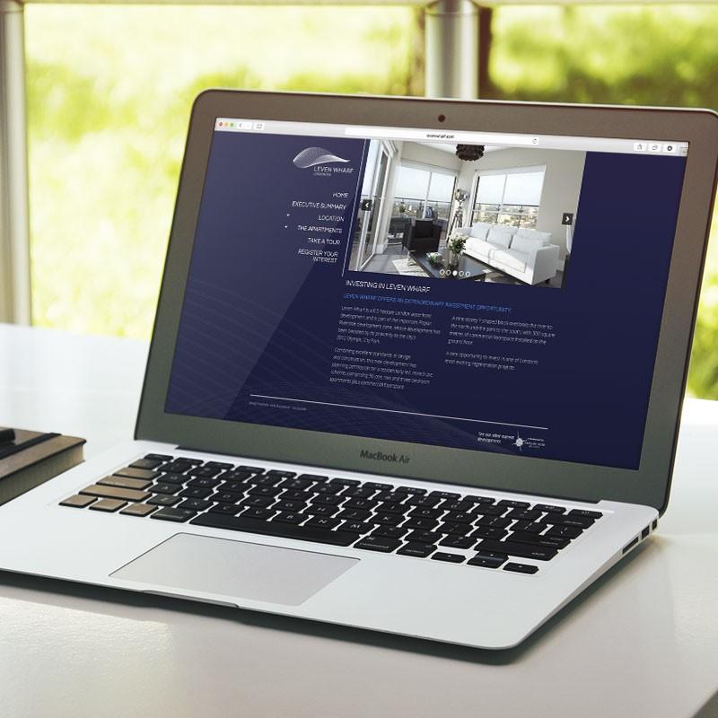 Property Investment Marketing Website Design