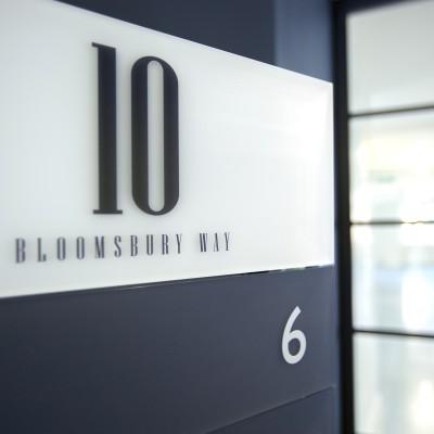 Commercial indoor signage design