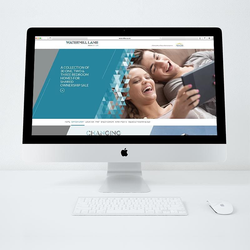 Residential Property Marketing Website Design