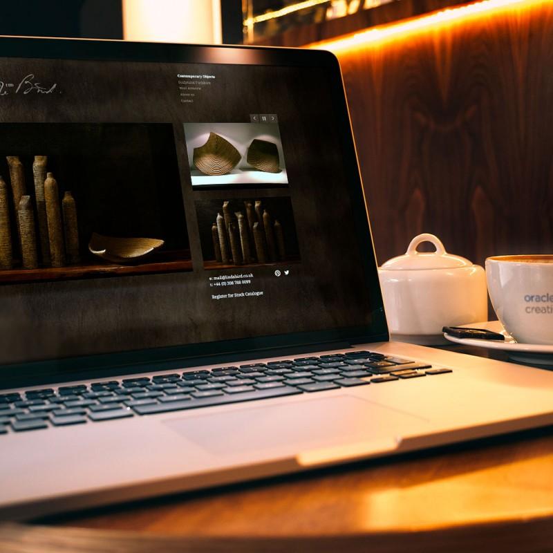 art & sculpture website design
