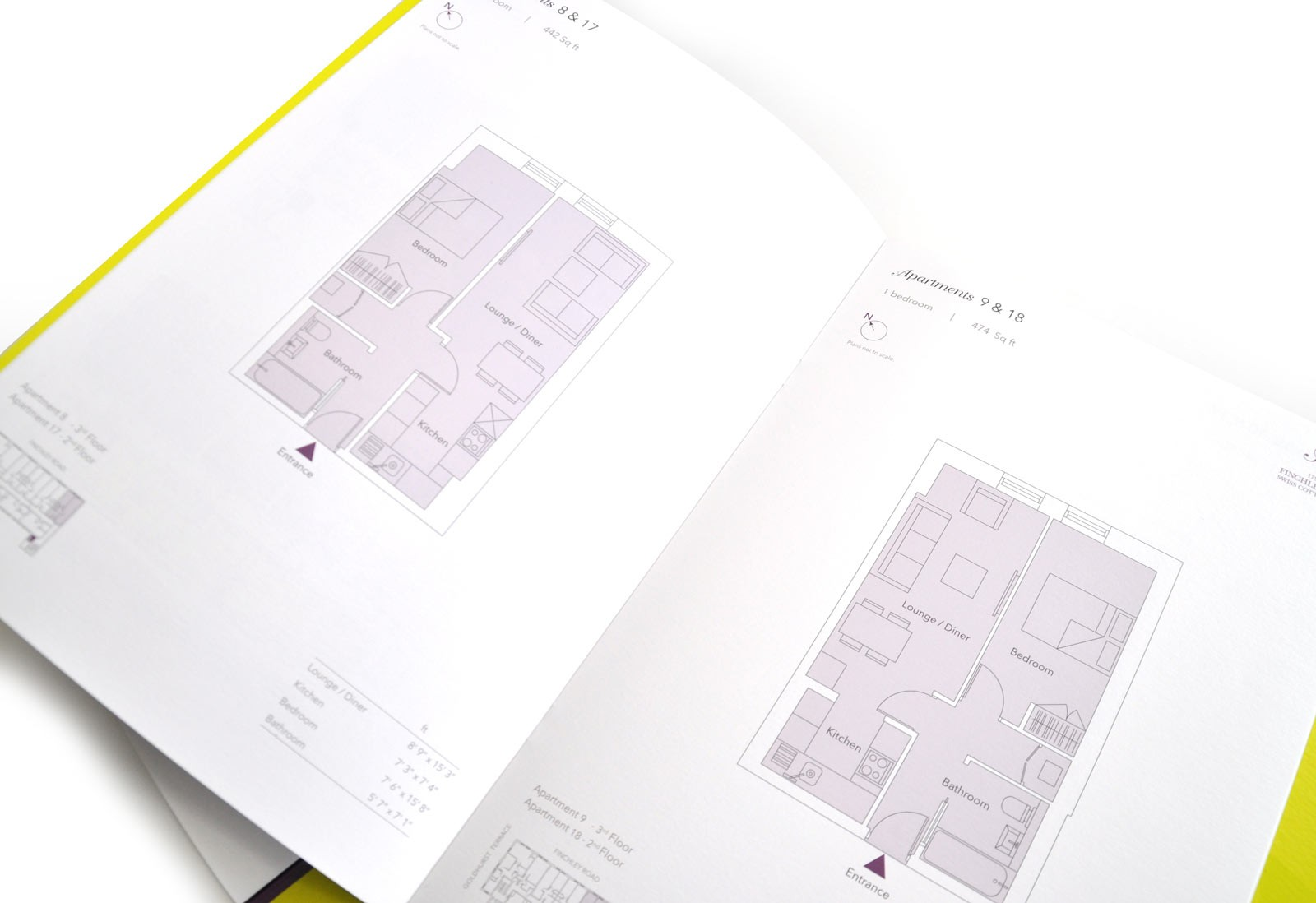 Property Brochure Floor plans