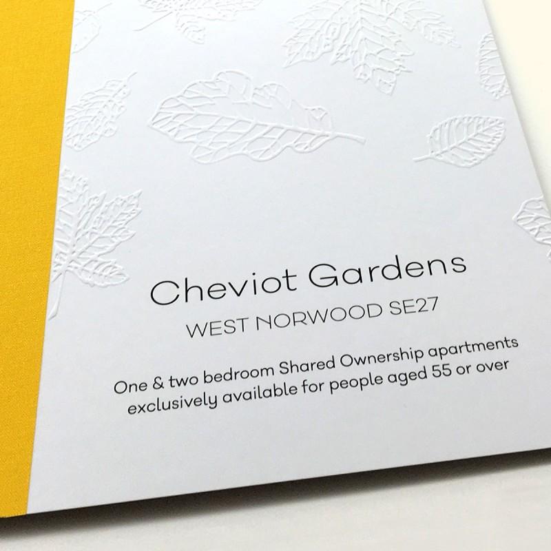 Retirement development Brochure Design - Cheviot Gardens