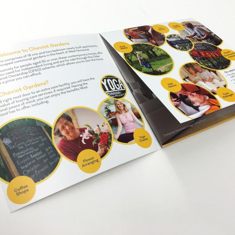 Retirement Property Brochure Advertising