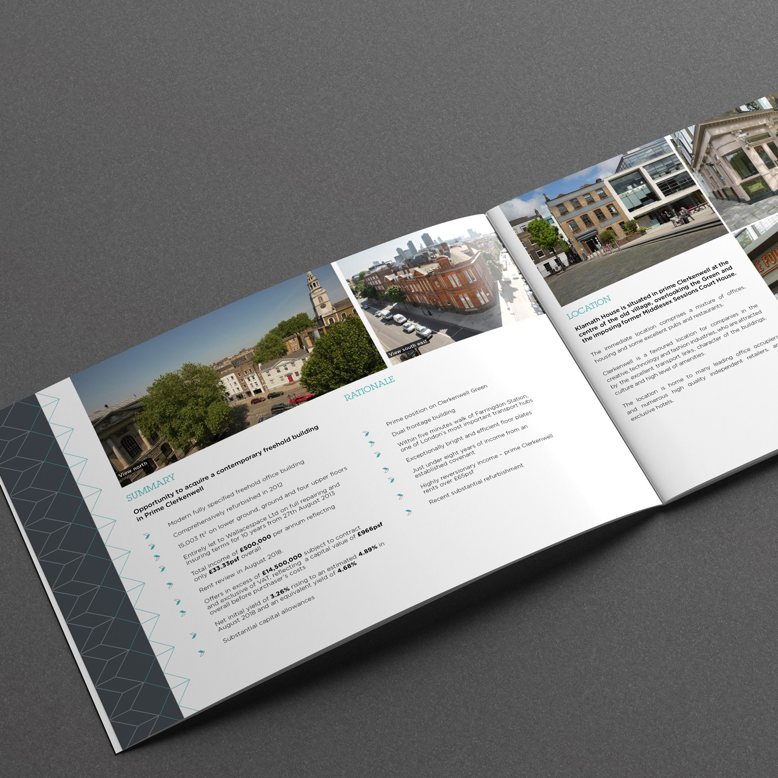 Investment Brochure Property Design : Oracle Creative