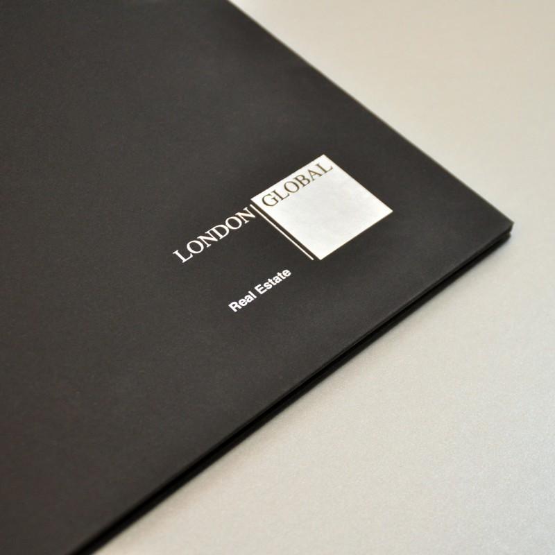 London Global Corporate Brochure Cover detail