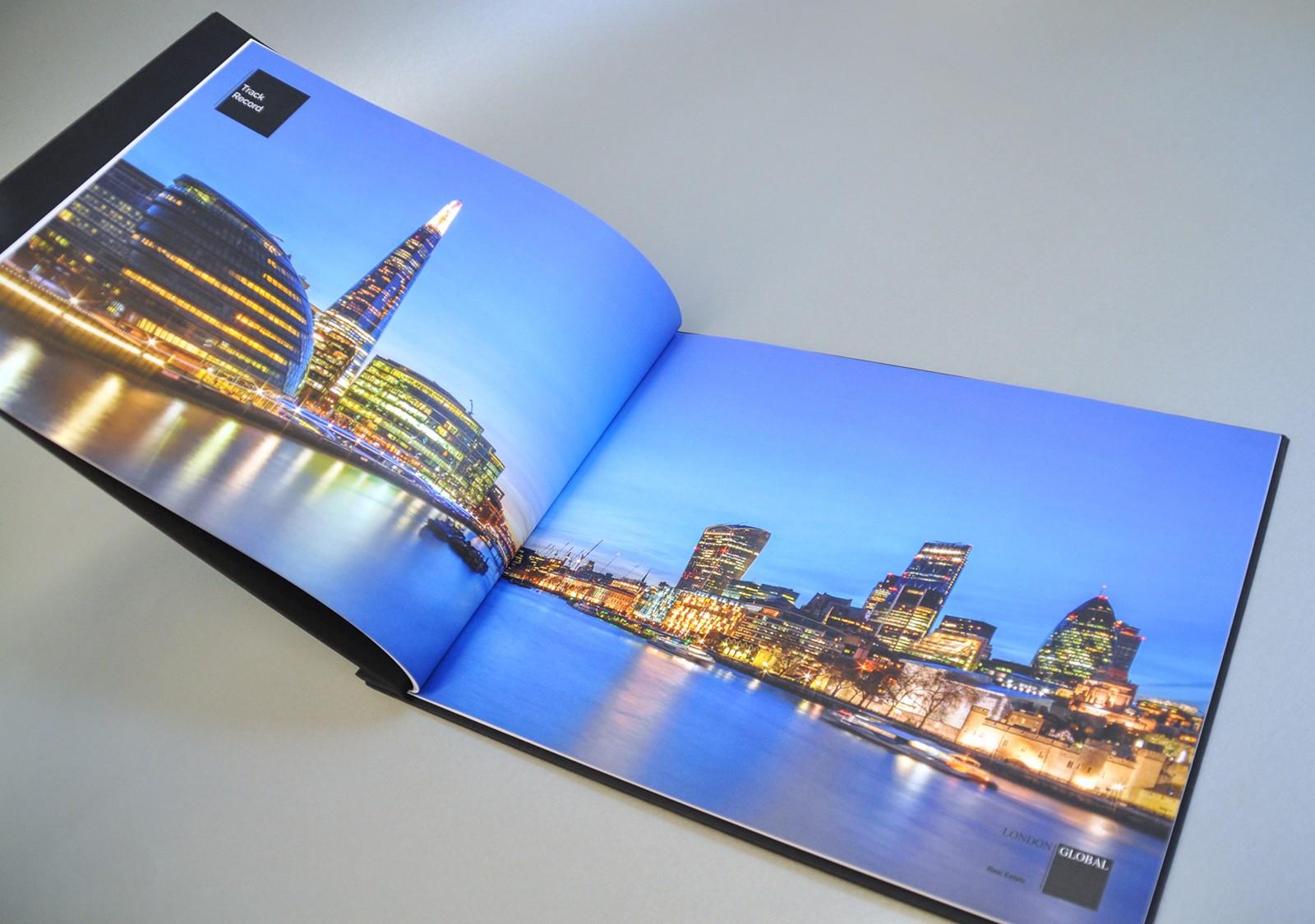 London Real Estate Brochure Design
