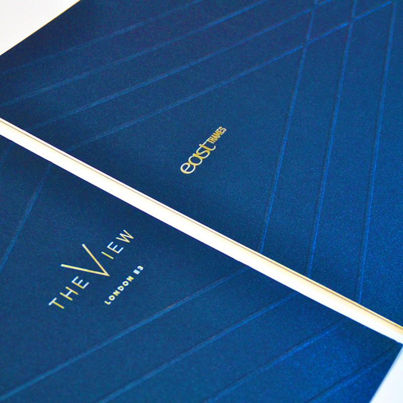 Luxury property brochure