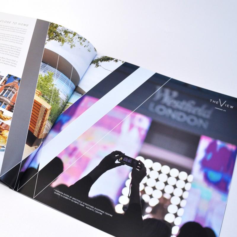 London brochure design