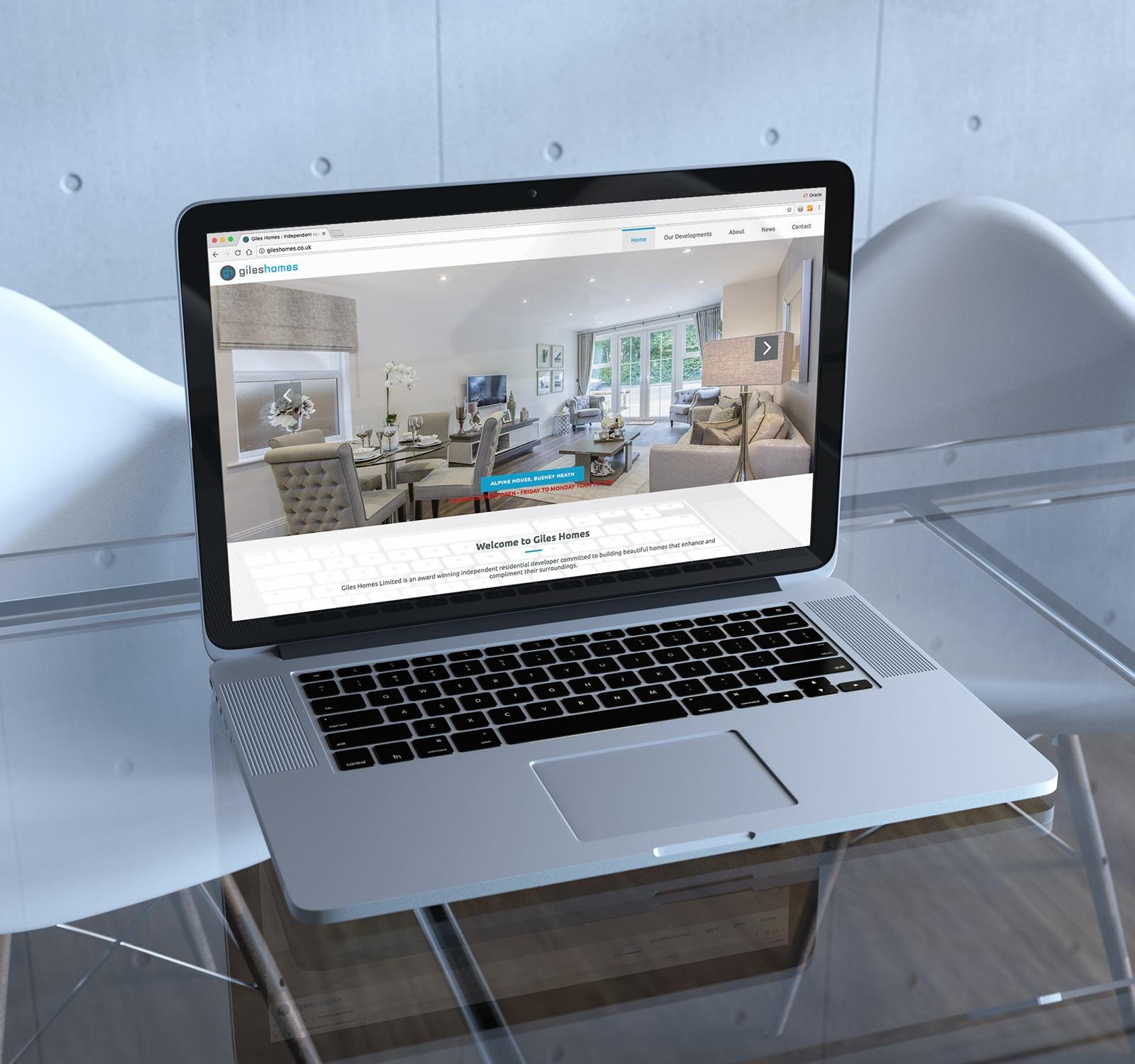 Housing Developer Web design